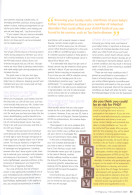 Fit Pregnancy – Feb/Mar 2009 – Mom's the Word – Lisa Morris – Pg2